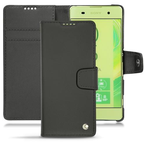 Sony Xperia XA leather case