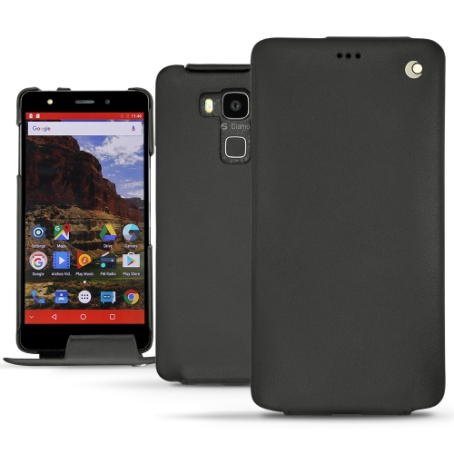 Archos Diamond 2 Plus leather case - Noir ( Nappa - Black )