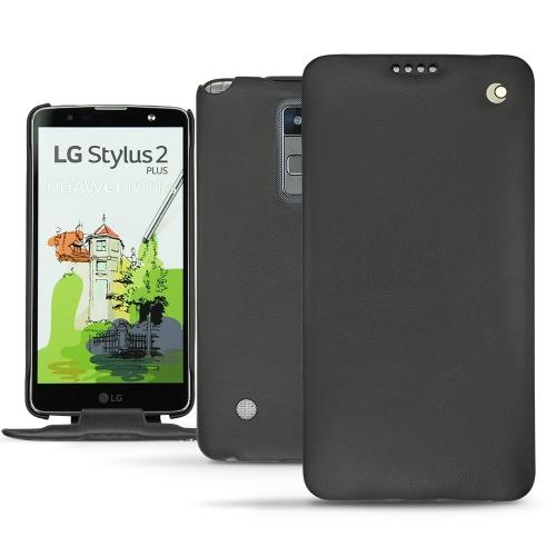 Lederschutzhülle LG Stylus 2 Plus - Noir ( Nappa - Black )