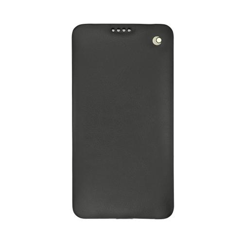 Capa em pele LG Stylus 2 Plus
