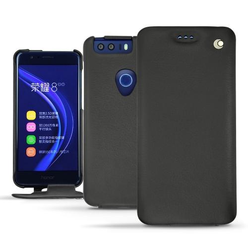 硬质真皮保护套 Huawei Honor 8 - Noir ( Nappa - Black )