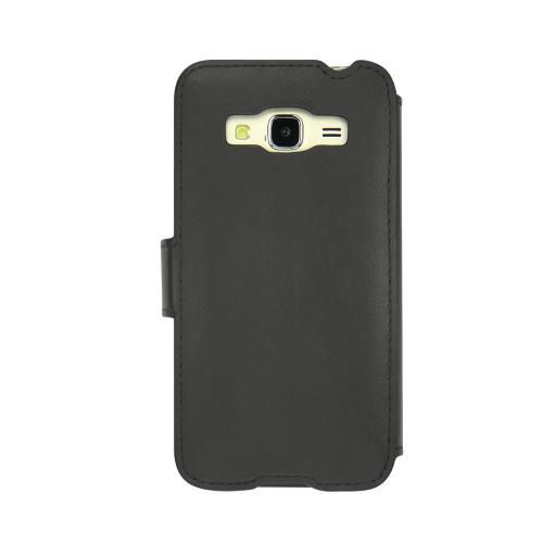 Housse cuir Samsung Galaxy J3 (2016)