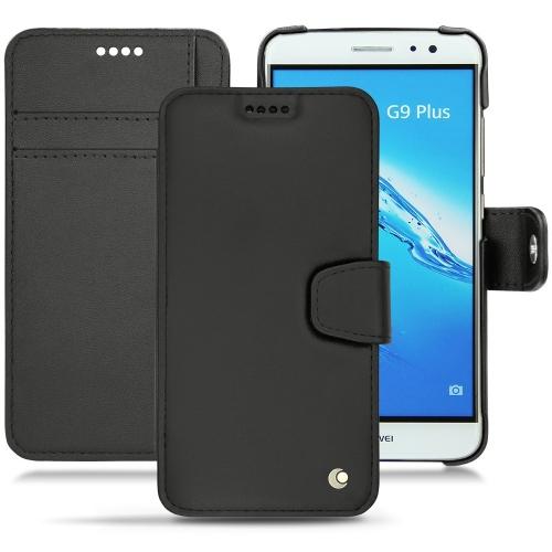 Housse cuir Huawei G9 Plus - Noir ( Nappa - Black )