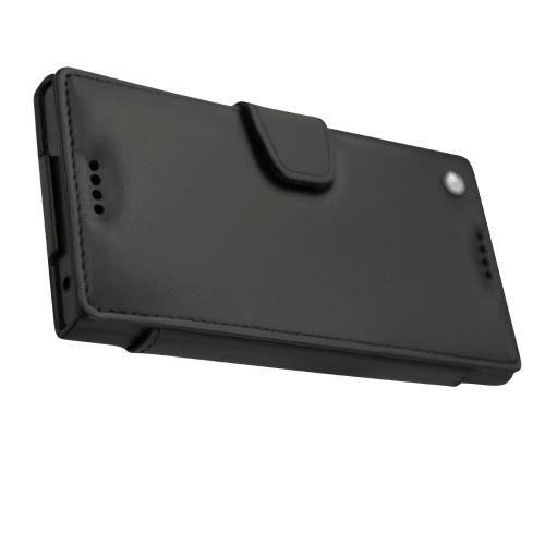 Housse cuir Sony Xperia XZ
