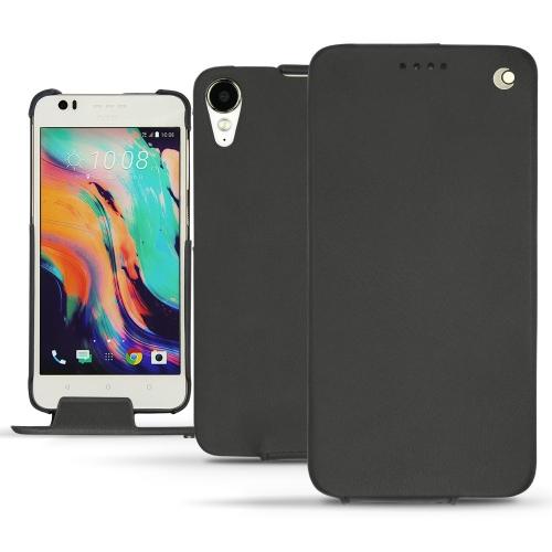 Housse cuir HTC Desire 10 Lifestyle - Noir ( Nappa - Black )
