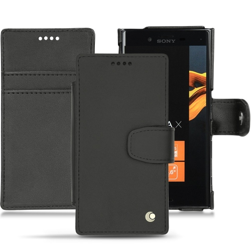 Housse cuir Sony Xperia X Compact
