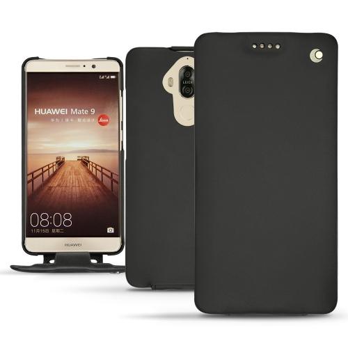 硬质真皮保护套 Huawei Mate 9 - Noir ( Nappa - Black )
