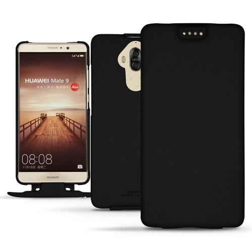 Housse cuir Huawei Mate 9 - Noir PU
