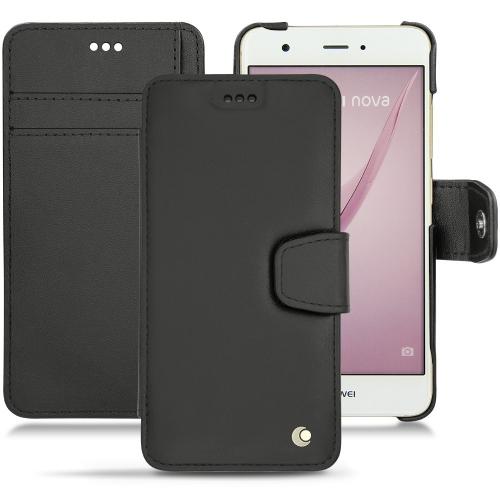 Capa em pele Huawei Nova - Noir ( Nappa - Black )