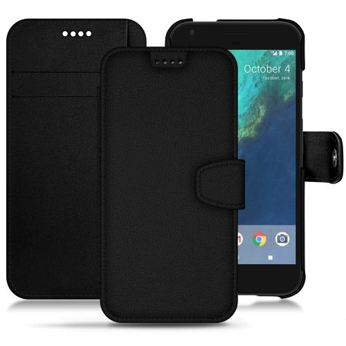 Google Pixel XL leather case - Noir PU
