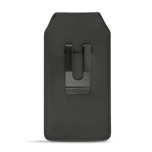 Etui cuir universel vertical pour telephones - Medium
