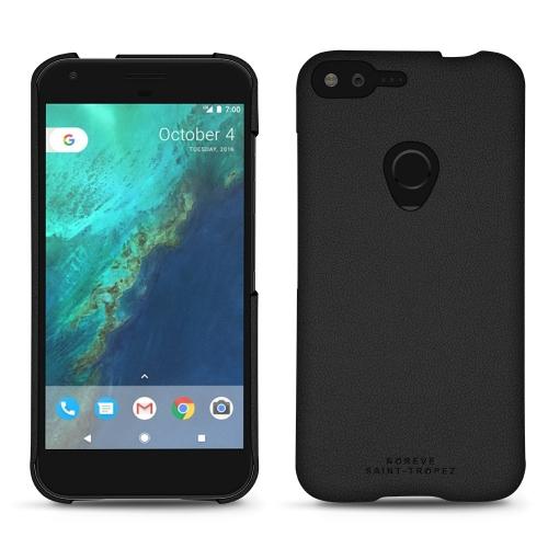 Google Pixel XL leather cover - Noir PU