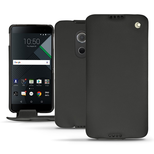 Blackberry DTEK60 leather case - Noir ( Nappa - Black )
