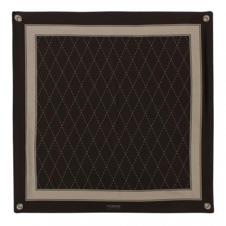 Seiden-Quadratschal - Griffe 1