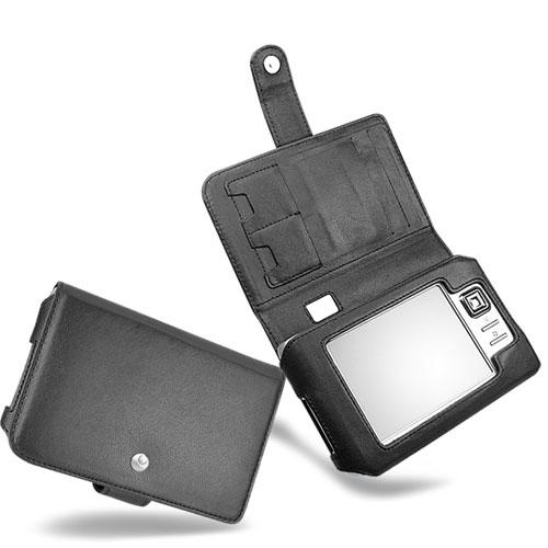 Housse cuir Travel Companion HP iPAQ rx5700 - rx5900  - Noir ( Nappa - Black )