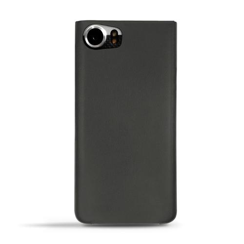 Capa em pele Blackberry Keyone