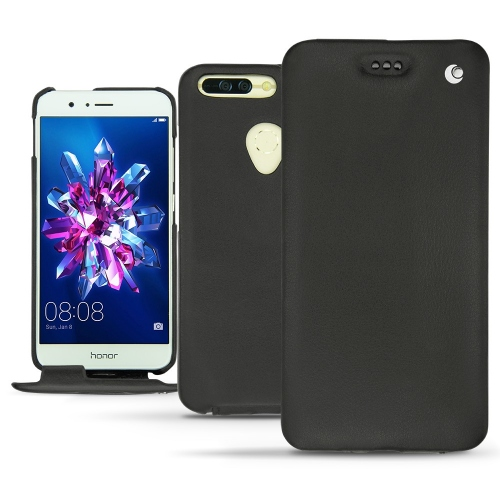 レザーケース Huawei Honor 8 Pro - Noir ( Nappa - Black )