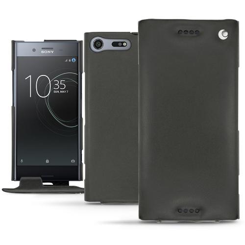 Housse cuir Sony Xperia XZ Premium - Noir ( Nappa - Black )