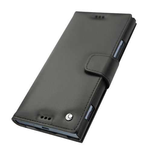 Housse cuir Sony Xperia XZ Premium