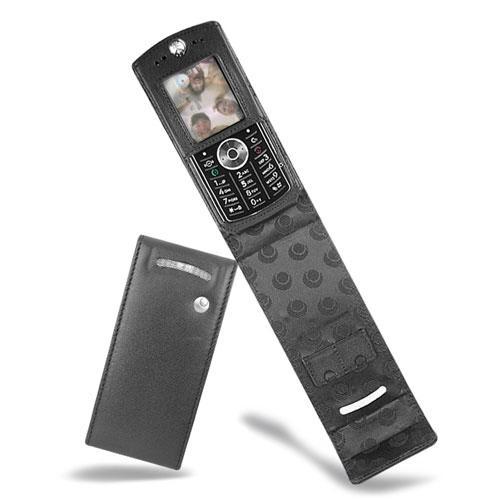 Motorola SLVR L9  leather case