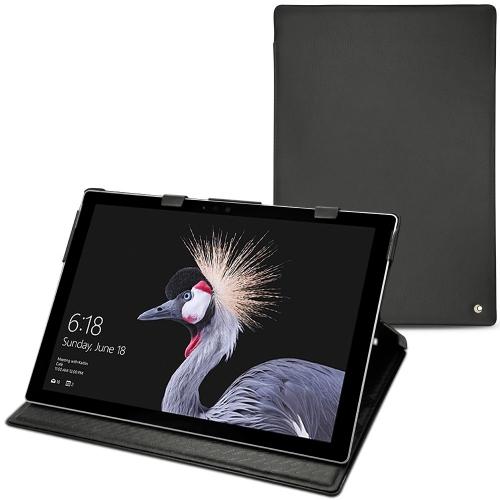 Microsoft Surface Pro (2017) leather case - Noir ( Nappa - Black )