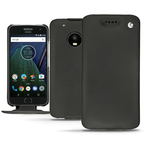 purchase cheap 9cc63 76b99 Lenovo Moto G5 Plus leather case