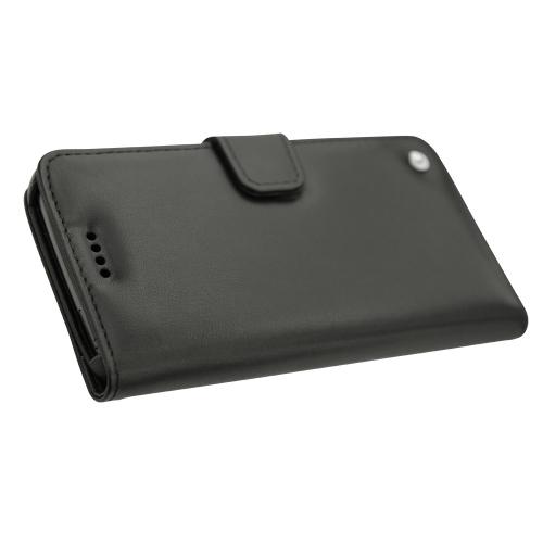 Housse cuir Lenovo Moto G5 Plus