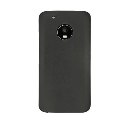 Coque cuir Lenovo Moto G5 Plus