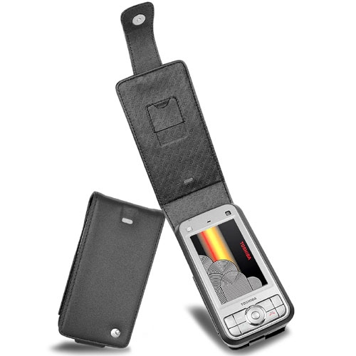 Housse cuir Toshiba Portege G900  - Noir ( Nappa - Black )