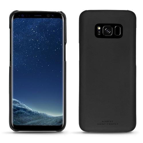 Coque cuir Samsung Galaxy S8 - Noir PU