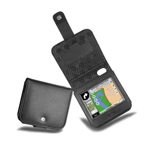 Mio C230  leather case - Noir ( Nappa - Black )