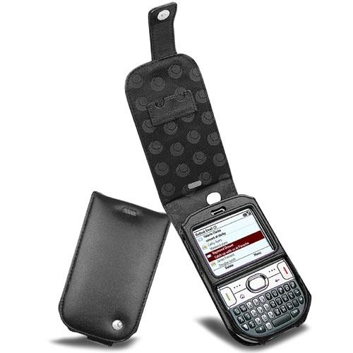 Housse cuir Palm Treo 500v - Treo 500p  - Noir ( Nappa - Black )