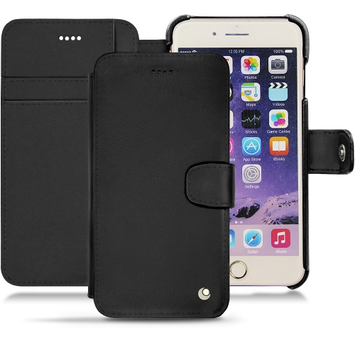 Housse cuir Apple iPhone 7 Plus - Noir ( Nappa - Black )