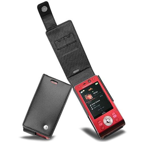Sony Ericsson W910  leather case