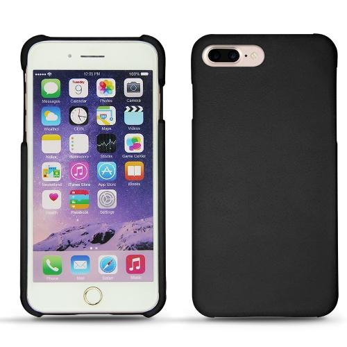 Apple iPhone 7 Plus leather cover - Noir ( Nappa - Black )