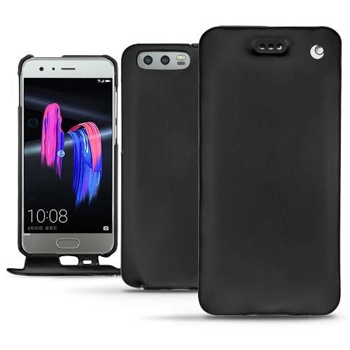 Huawei Honor 9 leather case - Noir ( Nappa - Black )