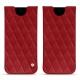 Funda de piel Samsung Galaxy S8 - Rouge - Couture ( Nappa - Pantone 199C )