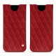 Samsung Galaxy S8 leather pouch - Rouge - Couture ( Nappa - Pantone 199C )
