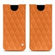 Samsung Galaxy S8 leather pouch - Orange - Couture ( Nappa - Pantone 1495U )