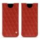 Funda de piel Samsung Galaxy S8 - Papaye - Couture ( Pantone 180C )