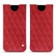 Lederschutzhülle Samsung Galaxy S8 - Rouge troupelenc - Couture