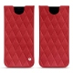 Pochette cuir Samsung Galaxy S8 - Rouge troupelenc - Couture