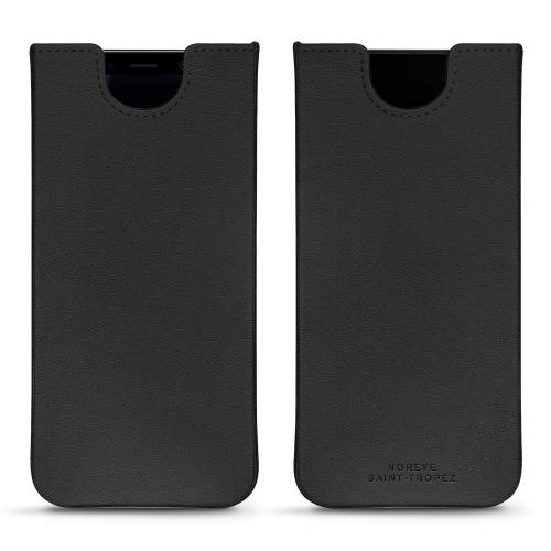 Samsung Galaxy S8 leather pouch - Noir PU