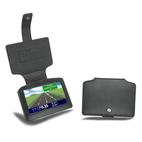 Housse cuir TomTom GO  - Noir ( Nappa - Black )
