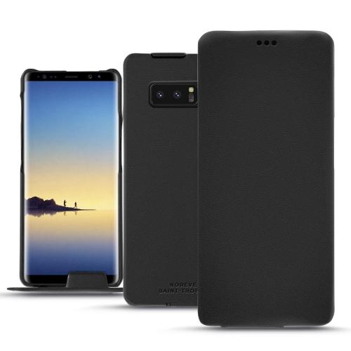 Housse cuir Samsung Galaxy Note8 - Noir PU
