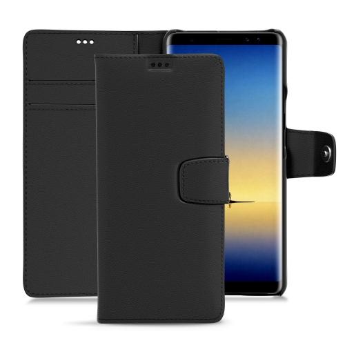 Custodia in pelle Samsung Galaxy Note8 - Noir PU