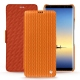 Housse cuir Samsung Galaxy Note8 - Abaca arancio