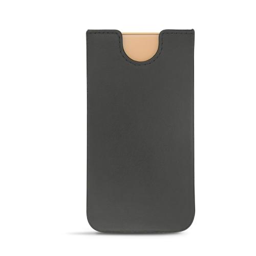 Pochette cuir Apple iPhone X