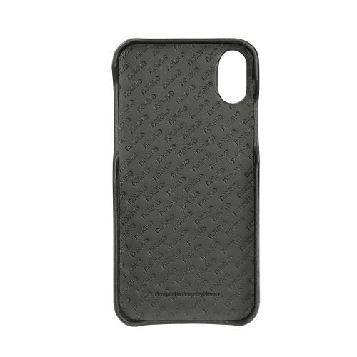 Coque cuir Apple iPhone X