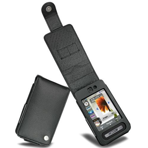 Samsung SGH-F480  leather case
